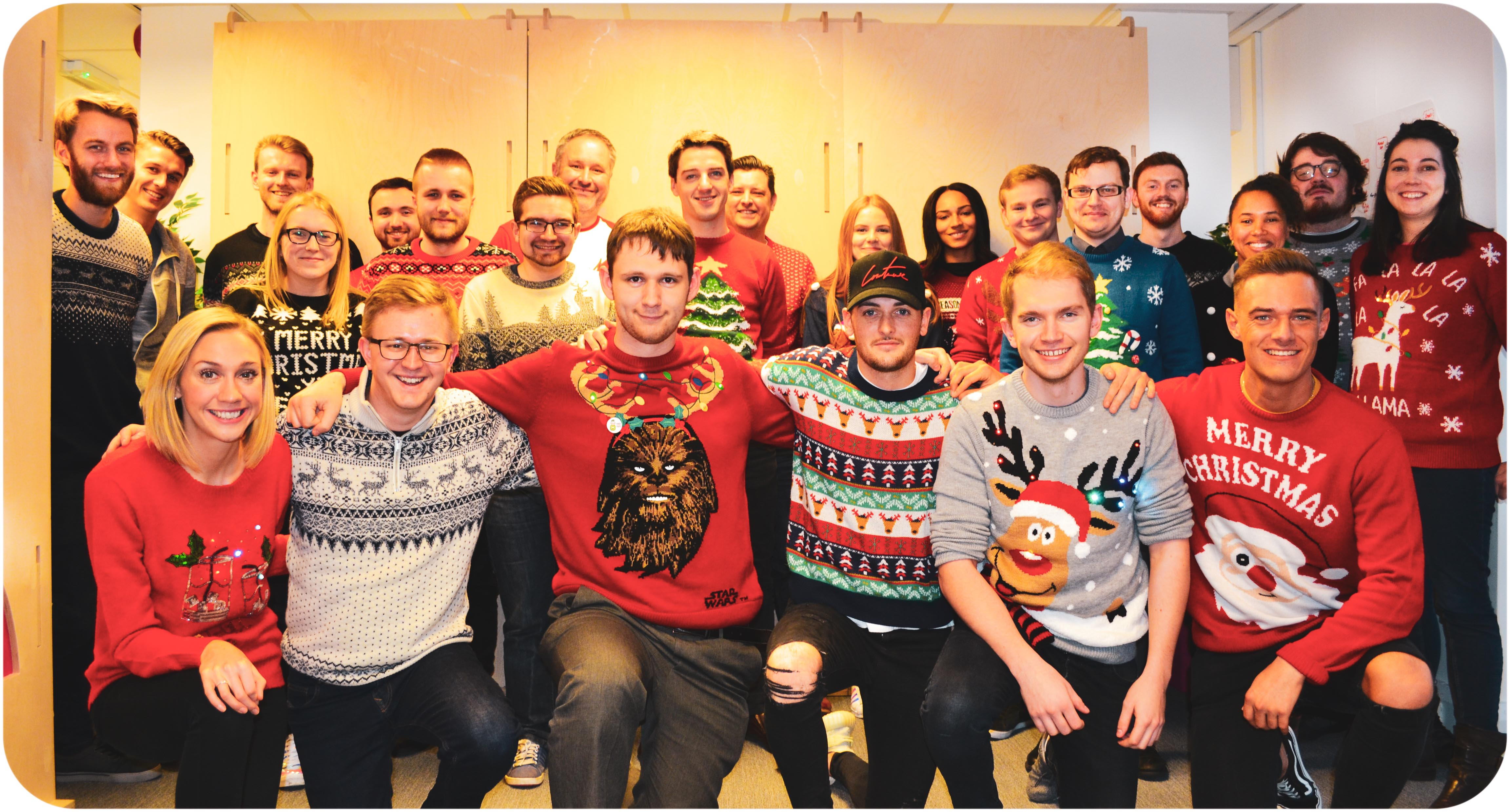 Igloo's Christmas Jumper Day 2018
