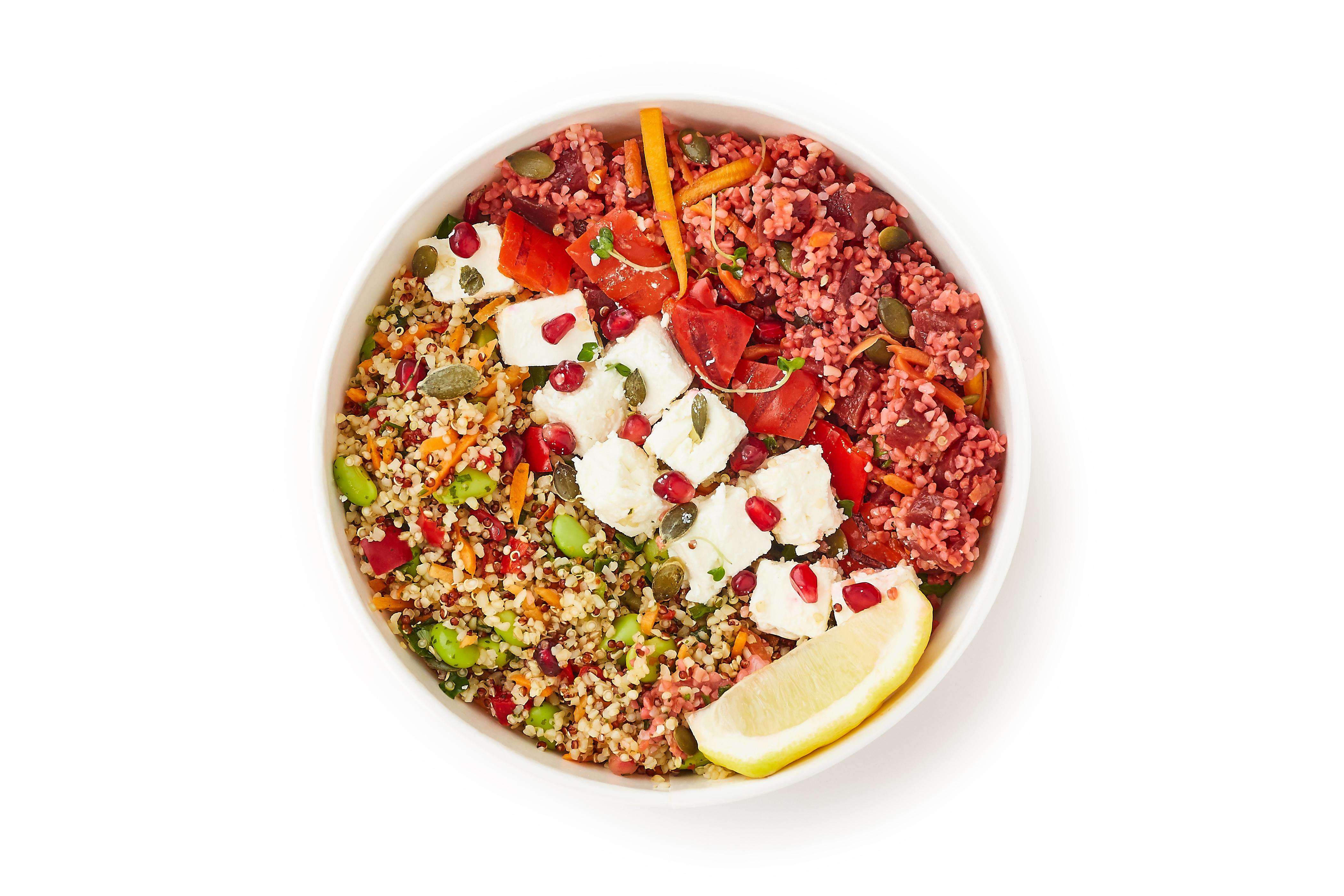 Feta, Beetroot & Pomegranate Salad