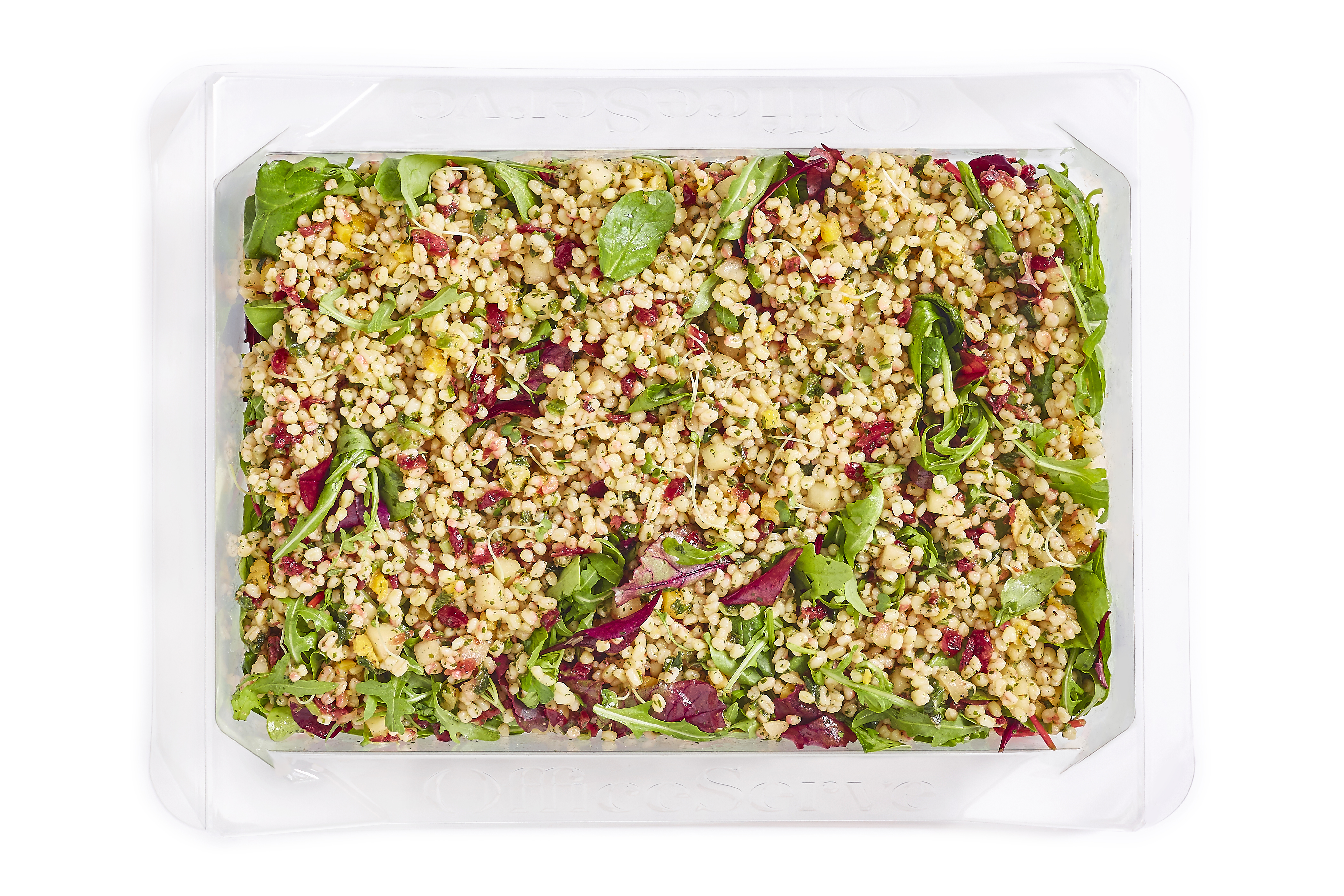 Wheatberry, Cranberry and Apple Salad (Sharer)