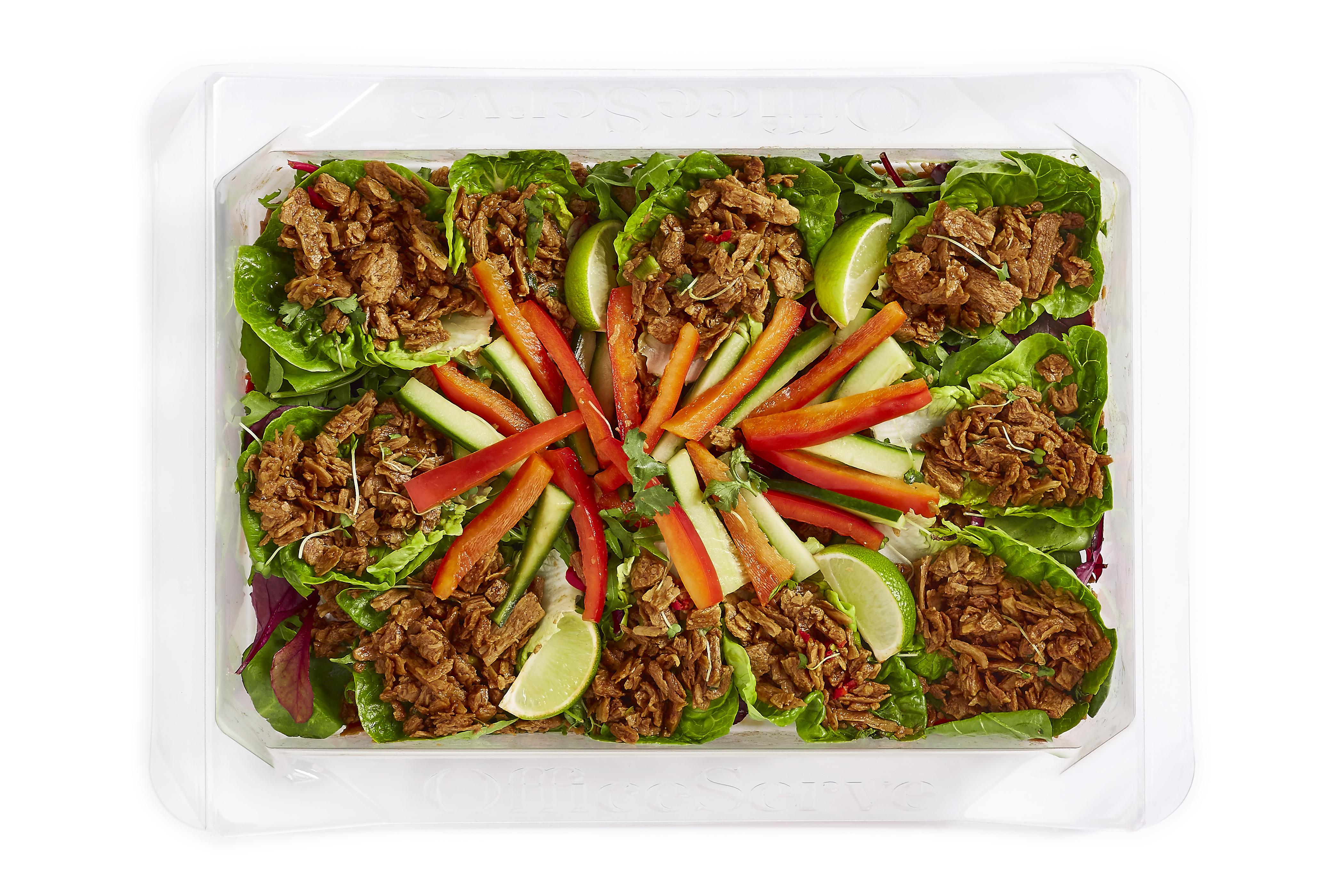 Hoisin Vegan Duck Lettuce Salad (Sharing)