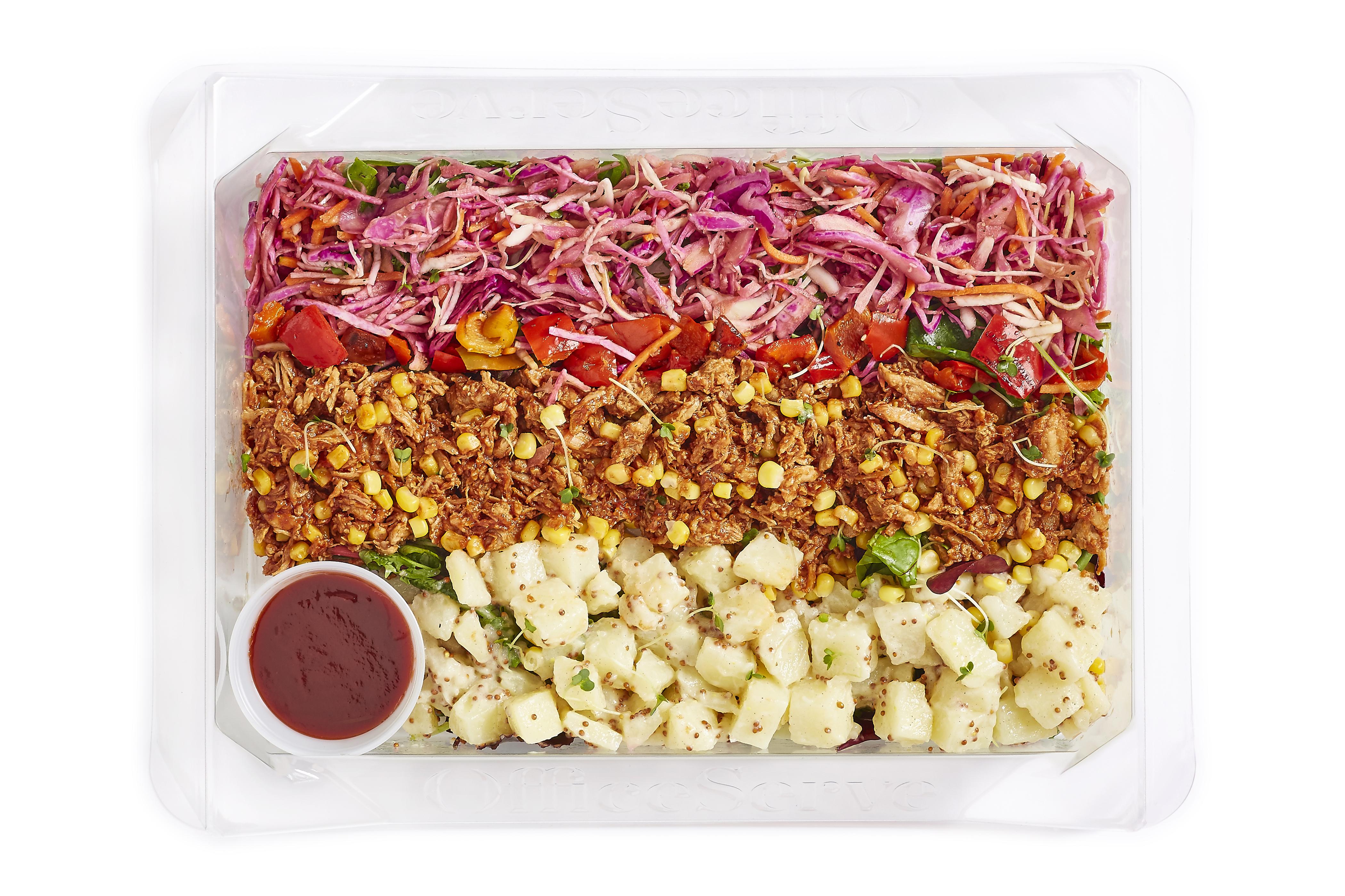 Pulled Pork & Pickled Pink Slaw Salad (Sharing)