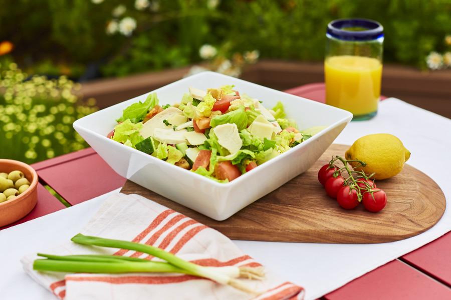 Chicken Caesar Salad (Halal Sharing)