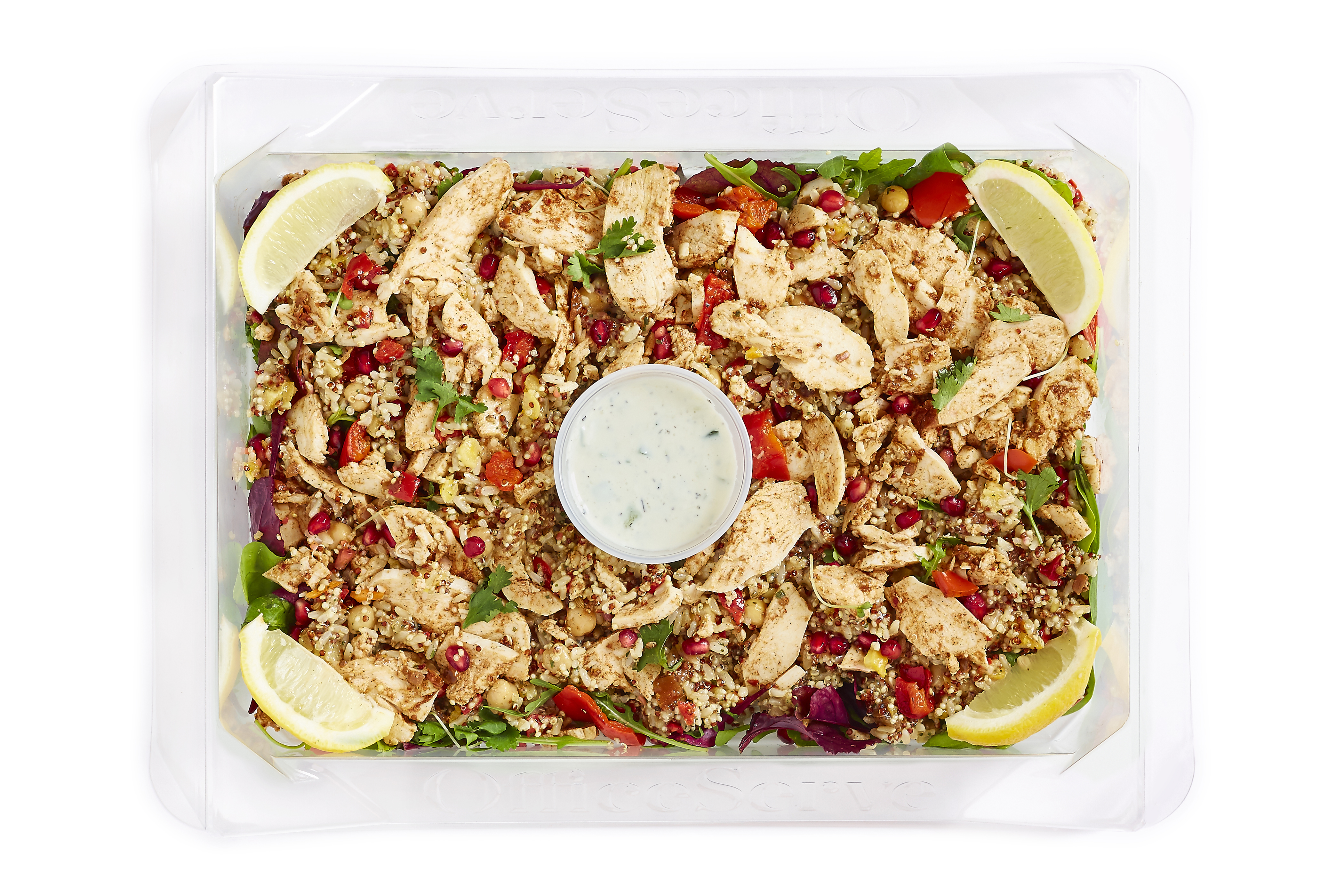 Harissa Chicken with Lemon & Mint Rice Salad  (Sharing)