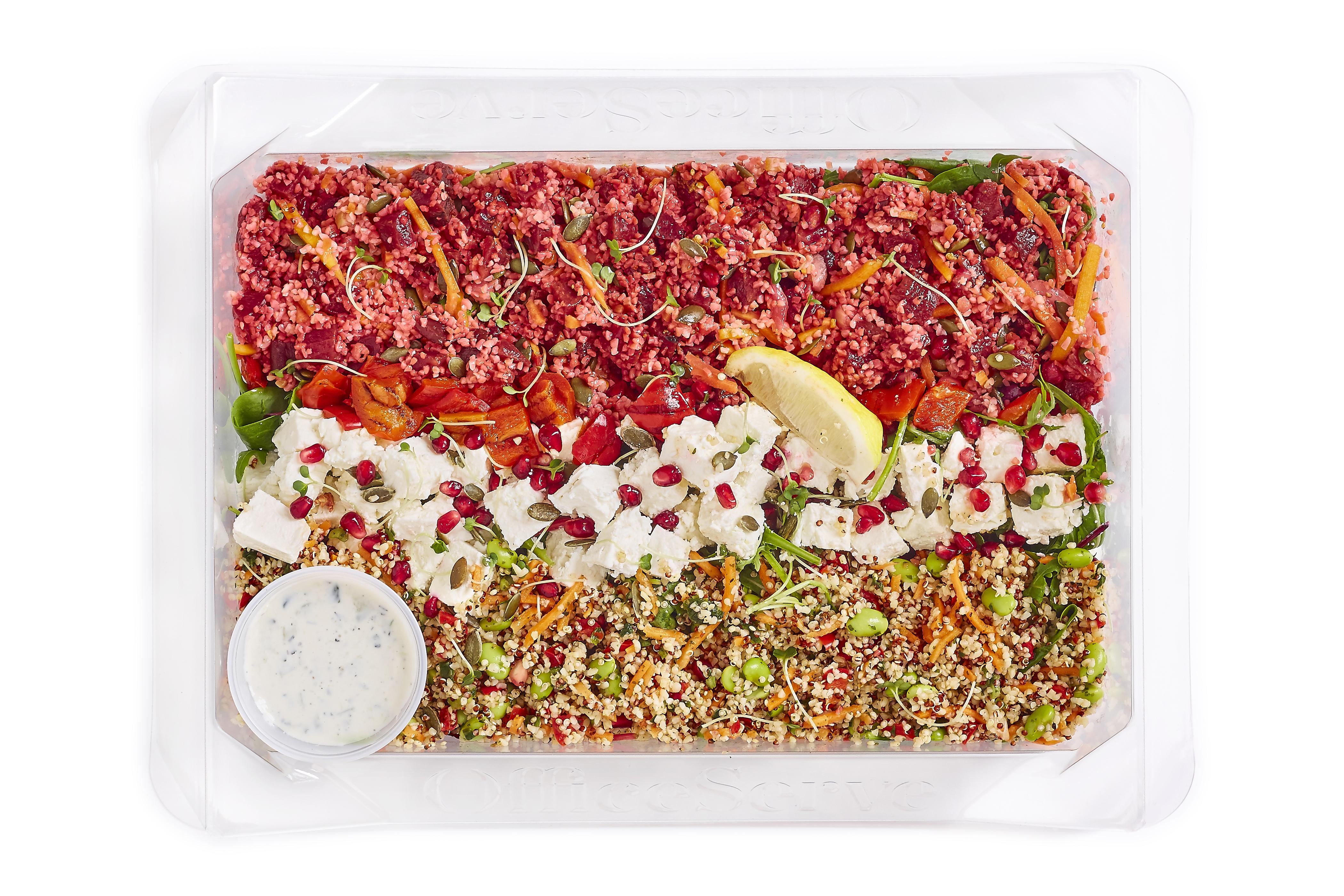 Feta, Beetroot & Pomegranate Salad (Sharer)