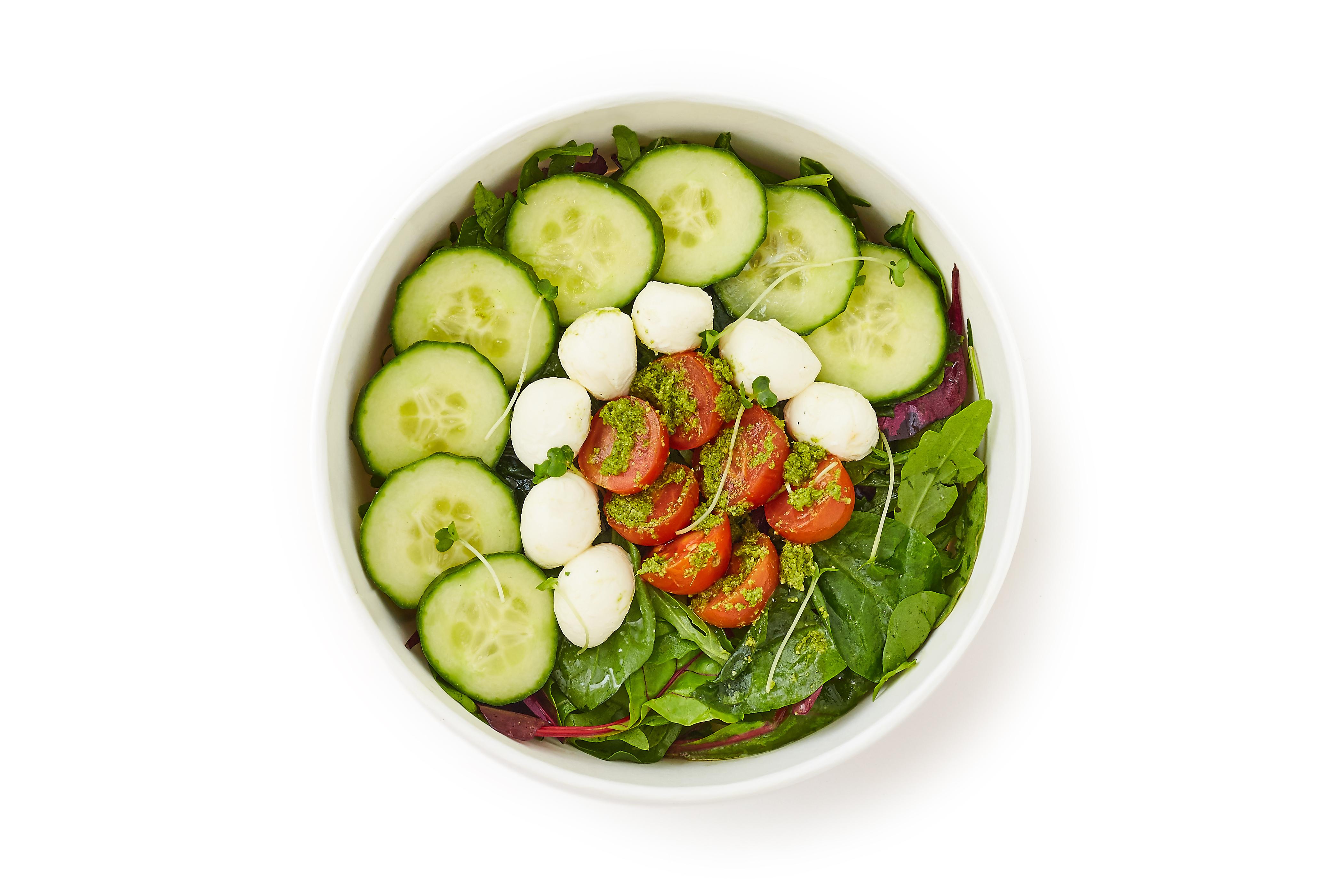 Mozzarella & Cherry Tomato Salad