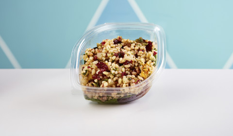 Wheatberry, Cranberry and Apple Salad