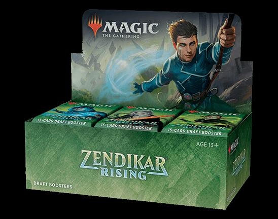 MTG: Zendikar Rising Draft Booster -  Wizards of the Coast