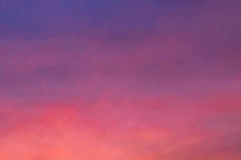 Gradient sky with clouds