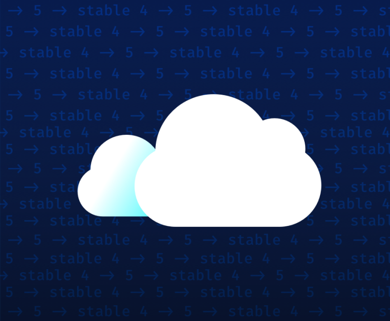 Rain cloud with background text