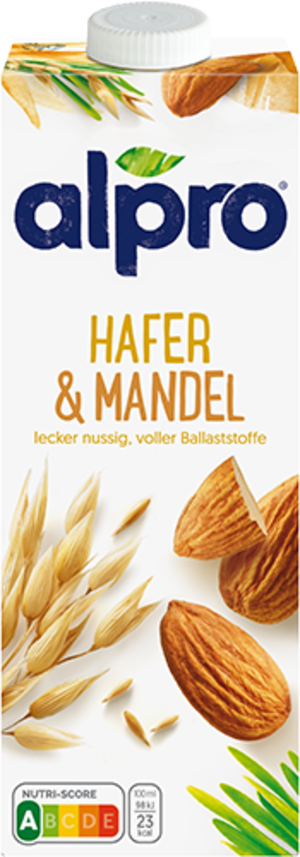 Hafer-Mandeldrink