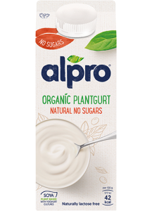 Mild and Creamy Plantgurt Utan socker