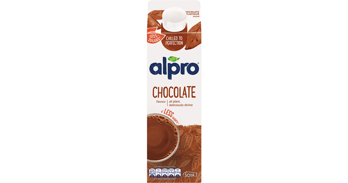 Soya Flavoured Drinks Choco Chilled Alpro