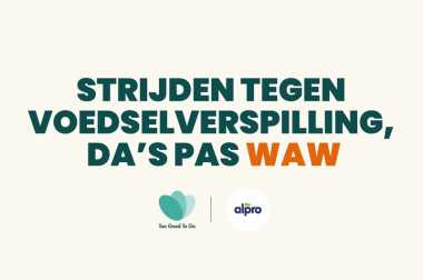 Alpro is een Waste Warrior Brand