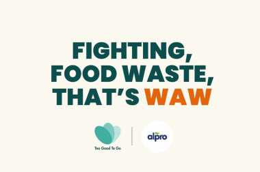 Alpro is a Waste Warrior Brand