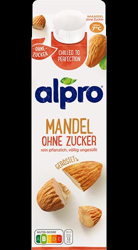 alpro mandel ungesüßt