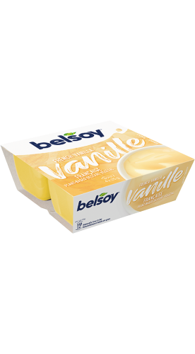 Belsoy dessert vanille conventional