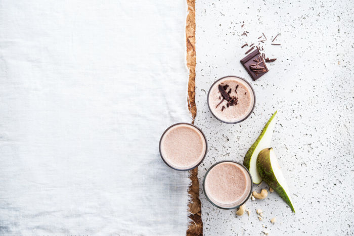 Smoothie de chocolate para golosos