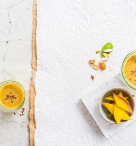 Smoothie Banane Mangue