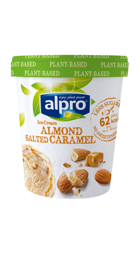 Almond Salted Ice Cream