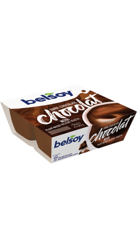Belsoy dessert dark chocolate conventional