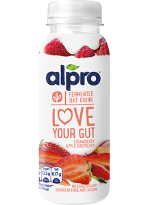 Love Your Gut Oat Drink Strawberry Apple Raspberry