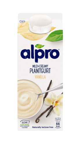 Mild and Creamy Plantgurt Vanilj