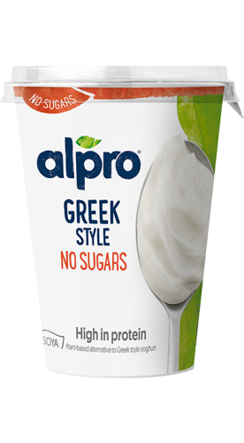 Alpro Greek Style No Sugars