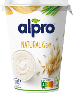 Alternativas de origen vegetal al yogur