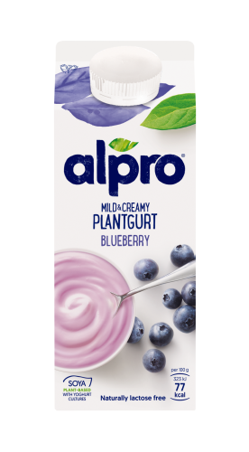 Mild and Creamy Plantgurt Blåbär