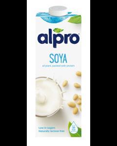 alpro sojamjölk innehåll