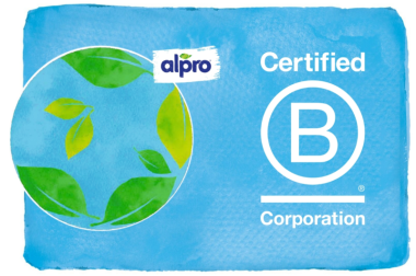 Alpro achieves 'outstanding' B Corp status
