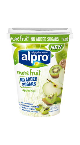 More fruit, no added sugars apple-kiwi