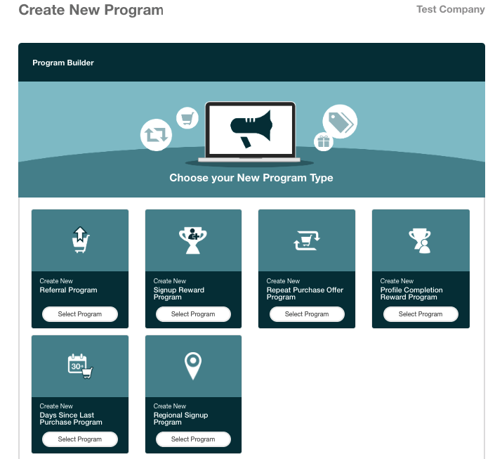 GA - Create New Program