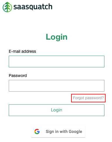 Portal Guide Forgot Password