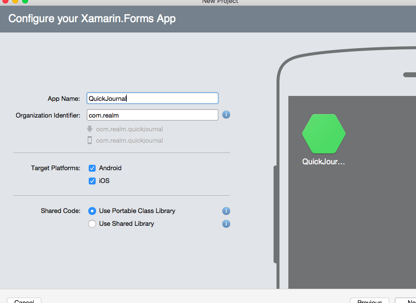 Cross-Platform Development with Xamarin Forms and Realm
