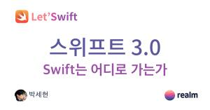 Letswift swift3 cover