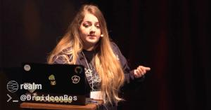 Eliza camberogiannis droidcon boston header
