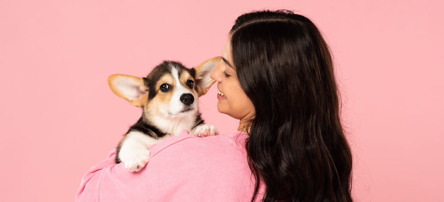 210526 LP Header Mobile Puppy with Human