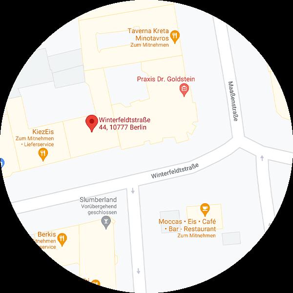PetsDeli LP StoreWinterfeldt Map
