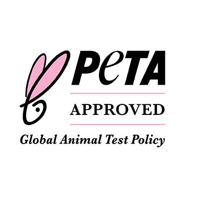 Peta-approved Logo - für tierversuchsfreie Naturkosmetik und überhaupt