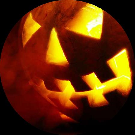 Jack o Lantern oder Kürbislaterne zu Halloween