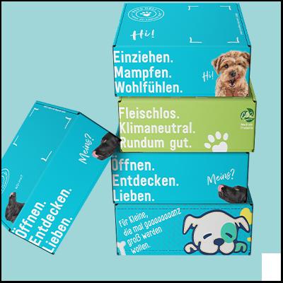Unsere Probierboxen für Hunde