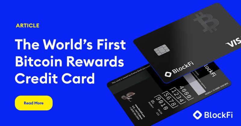 Blog post title: Join the Waitlist for the World's First-Ever Bitcoin Rewards Credit Card