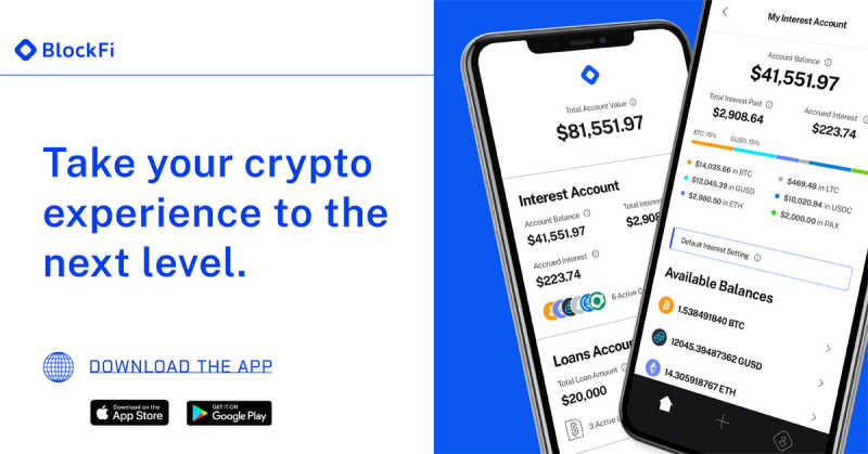 Blog post title: Introducing the New BlockFi App
