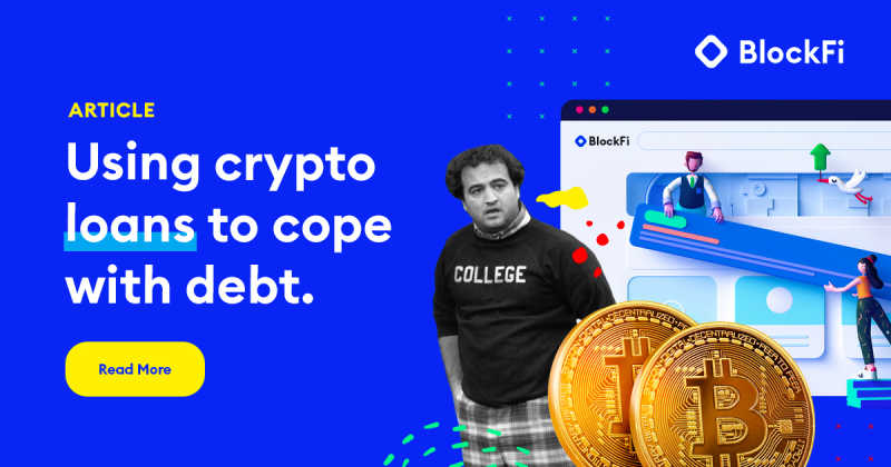 Blog post title: Can Crypto Loans Help with Student Debt?