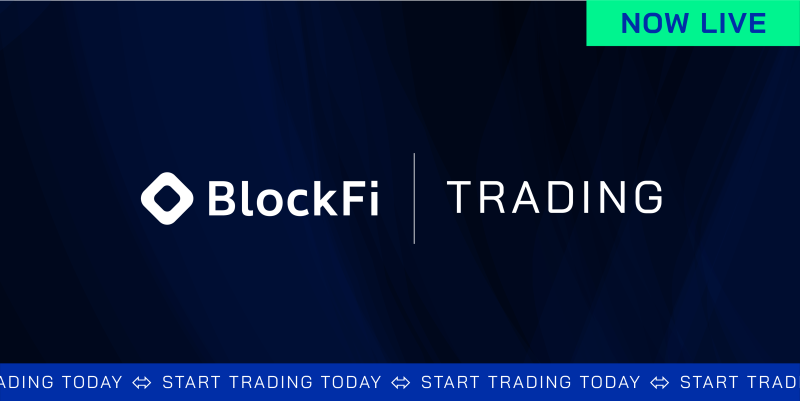Blog post title: Introducing BlockFi Trading | Trade Your Crypto with BlockFi