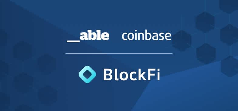 Blog post title: Coinbase Ventures and Able Partners Join BlockFi's Growing List of Investors