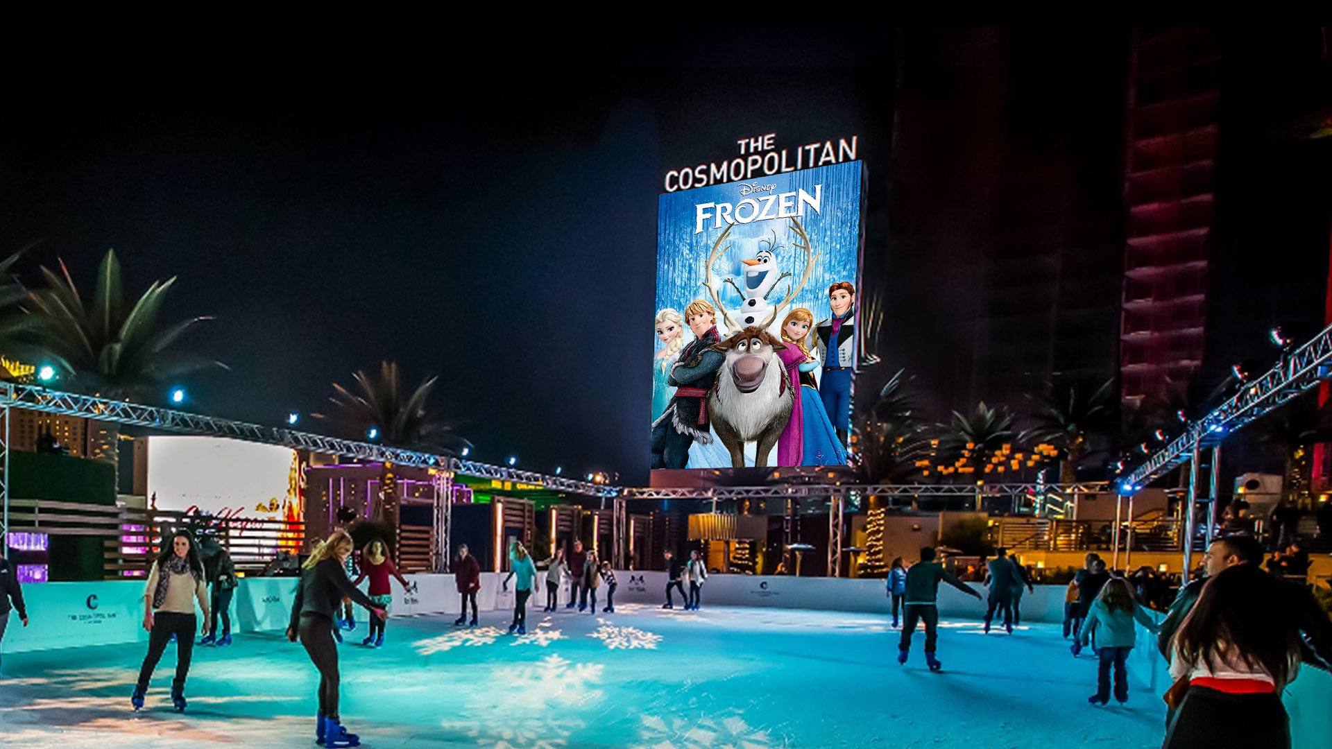 Date Skate Movie Nights at Cosmopolitan of Las Vegas