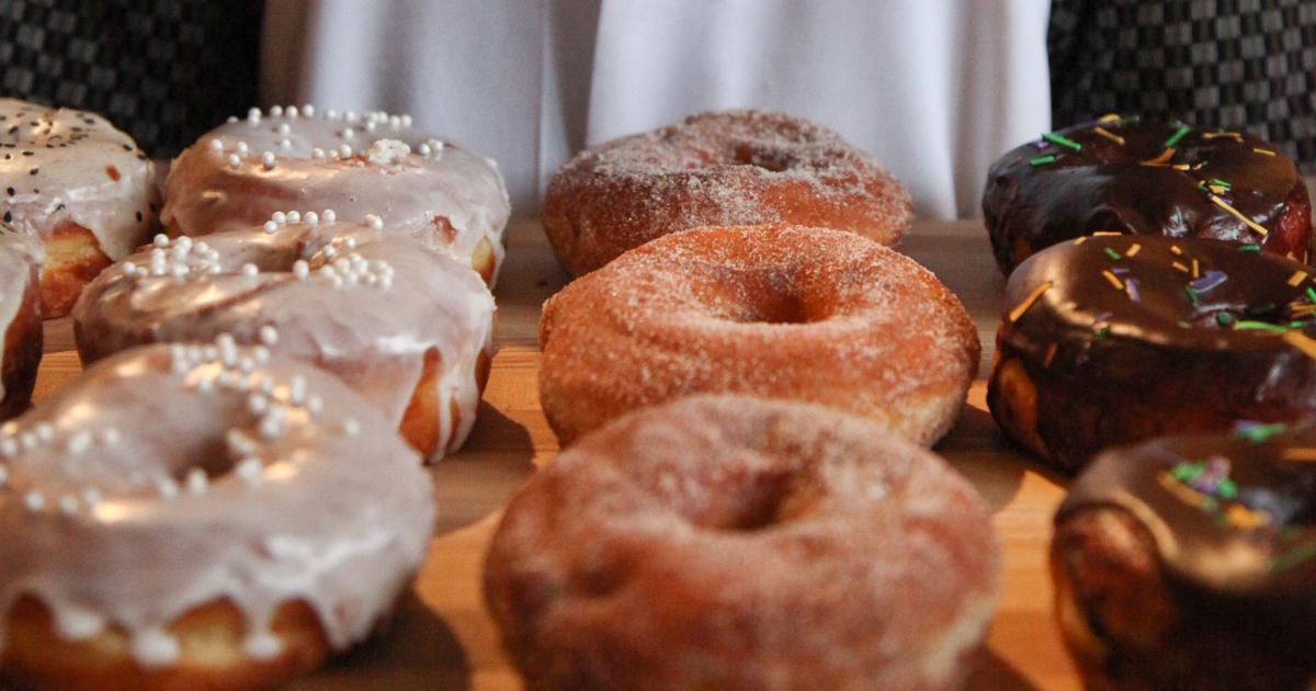 Las Vegas Luxury Hotel District Donuts Sliders Brew