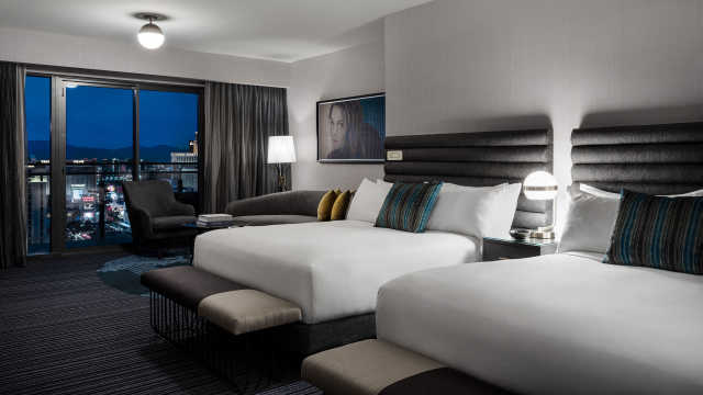 Terrace Studio Two Queen Beds The Cosmopolitan Of Las Vegas